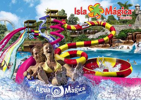 Isla Mágica e Agua Mágica